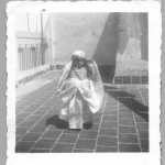 Annie liberman in Tunsia  at 3 years old 2