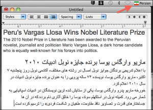 Working with languages (2)-Arabic Mac